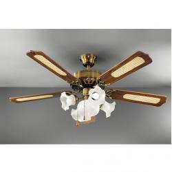 Stropni ventilator s svetilko 7066 OB - Ventilatorji Alpcom