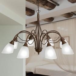 Rustikalna viseča svetilka 1780 / 8 - Rustikalna svetila Alpcom