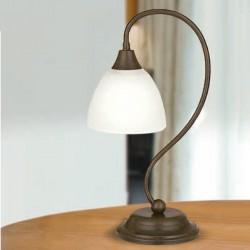 Rustikalna namizna svetilka 1785 / 1L - Alpcom svetila