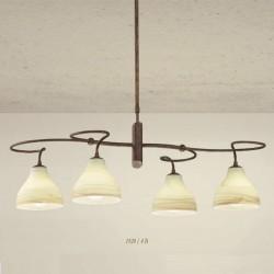 Rustikalna viseča svetilka 1920 / 4B - Alpcom svetila