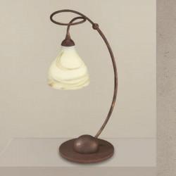Rustikalna namizna svetilka 1920 / 1L - Alpcom svetila