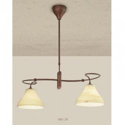 Rustikalna viseča svetilka 1920 / 2B - Alpcom svetila