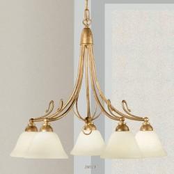Rustikalna viseča svetilka 2383 / 5 - Alpcom svetila
