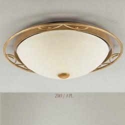 Rustikalna plafonjera 2383 / 3PL - Alpcom svetila