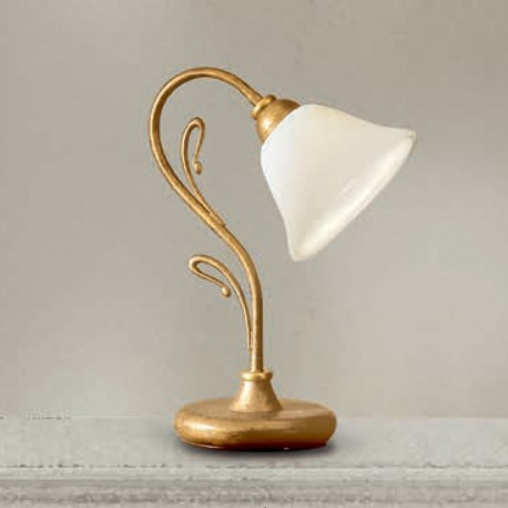 Rustikalna namizna svetilka 2383 / 1L - Alpcom svetila