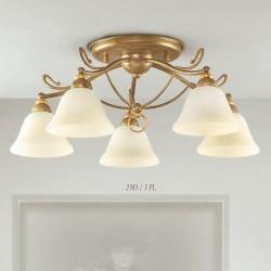 Rustikalna stropna svetilka 2383 / 5PL - Alpcom svetila