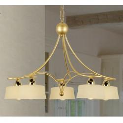 Rustikalna viseča svetilka 3726 / 5 - Alpcom svetila