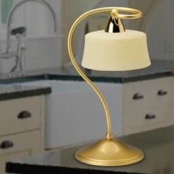 Rustikalna namizna svetilka 3726 / 1L - Alpcom svetila