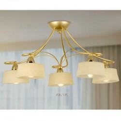 Rustikalna stropna svetilka 3726 / 5PL - Alpcom svetila