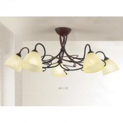 Rustikalna stropna svetilka 4215 / 5PL - Alpcom svetila