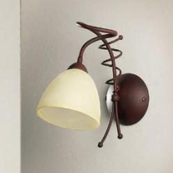 Rustikalna zidna svetilka 4215 / 1A - Alpcom svetila
