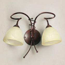 Rustikalna zidna svetilka 4215 / 2A - Alpcom svetila