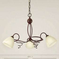 Rustikalna viseča svetilka 4215 / 3 - Alpcom svetila