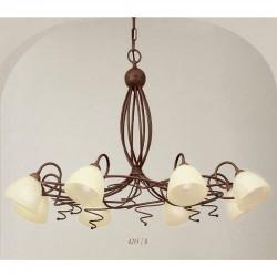 Rustikalna viseča svetilka 4215 / 8 - Alpcom svetila