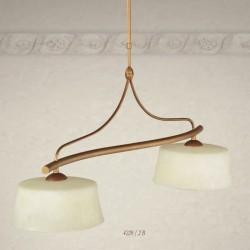 Rustikalna viseča svetilka 4220 / 2B - Alpcom svetila