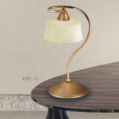 Rustikalna namizna svetilka 4220 / 1L - Alpcom svetila