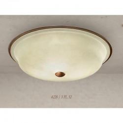 Rustikalna plafonjera 4220 / 3PL 52 - Alpcom svetila