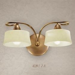 Rustikalna zidna svetilka 4220 / 2A - Alpcom svetila