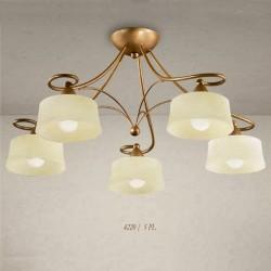 Rustikalna stropna svetilka 4220 / 5PL - Alpcom svetila
