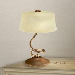 Rustikalna namizna svetilka 4220 / 2LTG - Alpcom svetila