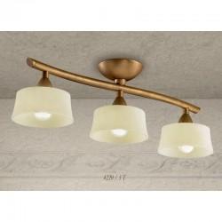 Rustikalna stropna svetilka 4220 / 3T - Alpcom svetila