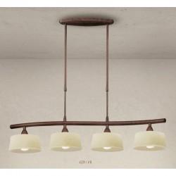 Rustikalna viseča svetilka 4220 / 4B - Alpcom svetila