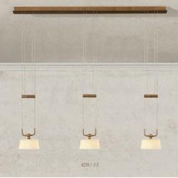 Rustikalna viseča svetilka 4220 / 3S - Alpcom svetila