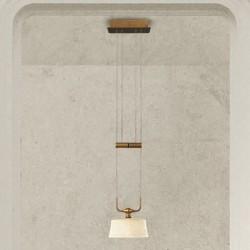 Rustikalna viseča svetilka 4220 / 1SP - Alpcom svetila