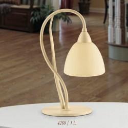 Rustikalna namizna svetilka 4280 / 1L - Alpcom svetila