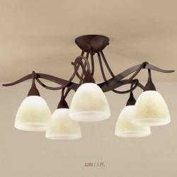 Rustikalna stropna svetilka 4280 / 5PL - Alpcom svetila