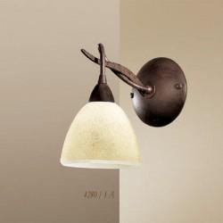 Rustikalna zidna svetilka 4280 / 1A - Alpcom svetila