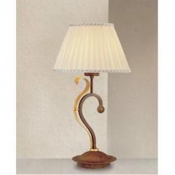 Rustikalna namizna svetilka 4990 / 1L - Alpcom svetila