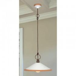 Rustikalna viseča svetilka 4560 / S41 - Alpcom svetila
