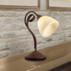Rustikalna namizna svetilka 1750 / 1L - Alpcom svetila