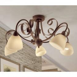 Rustikalna stropna svetilka 1750 / 5PL - Alpcom svetila