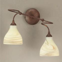 Rustikalna zidna svetilka 1920 / 2A - Alpcom svetila