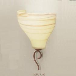 Rustikalna zidna svetilka 1920 / 1AG - Alpcom svetila