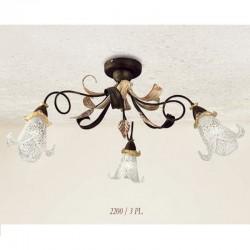 Rustikalna stropna svetilka 2200 / 3PL - Alpcom svetila