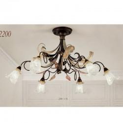 Rustikalna stropna svetilka 2200 / 6PL - Alpcom svetila