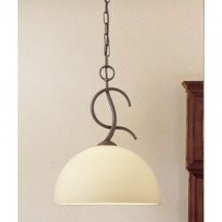 Rustikalna viseča svetilka 4240 / 1S - Alpcom svetila