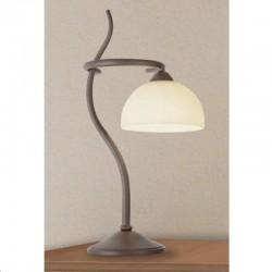 Rustikalna namizna svetilka 4240 / 1L - Alpcom svetila