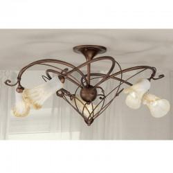 Rustikalna stropna svetilka 4245 / 5PL - Alpcom svetila