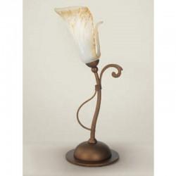 Rustikalna namizna svetilka 4245 / 1L - Alpcom svetila