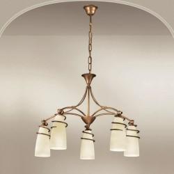 Rustikalna viseča svetilka 4260 / 5 - Alpcom svetila