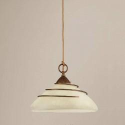 Rustikalna viseča svetilka 4260 / 1SG - Alpcom svetila