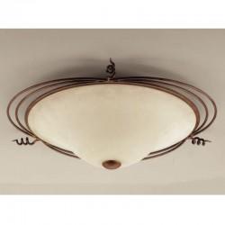 Rustikalna plafonjera 4260 / 3PL - Alpcom svetila