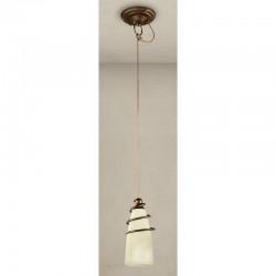 Rustikalna viseča svetilka 4260 / 1S - Alpcom svetila