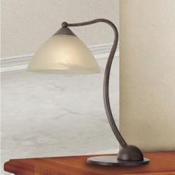 Rustikalna namizna svetilka 4390 / 1L - Alpcom svetila