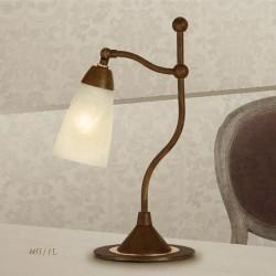 Rustikalna namizna svetilka 4455 / 1L - Alpcom svetila