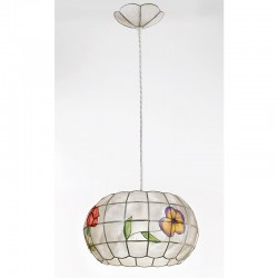 Viseča svetilka - filipinska školjka H5564 - Alpcom svetila